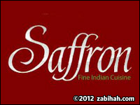 safron fine indian cuisine logo