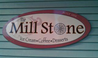 the mill stone signage