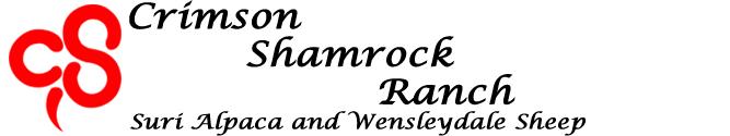 crimson shamrock ranch logo