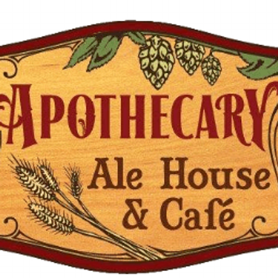 apothocary ale house and cafe logo