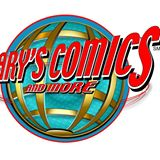 garys comics and more logo