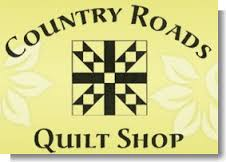country roads quilt shop logo
