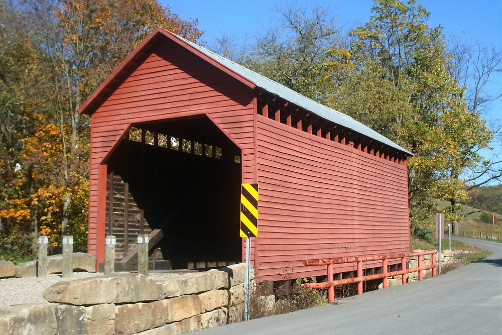 dents run covered bridge