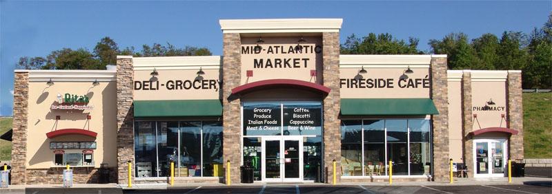 mid atlantic market store front