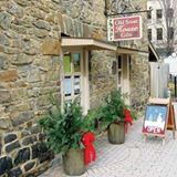 old stone house storefront