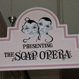 presenting the soap opera signage