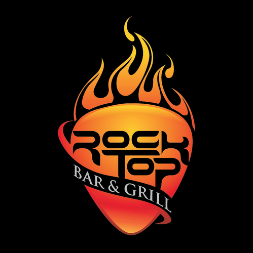 rock top bar and grill logo
