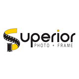 superior photo and frame logo