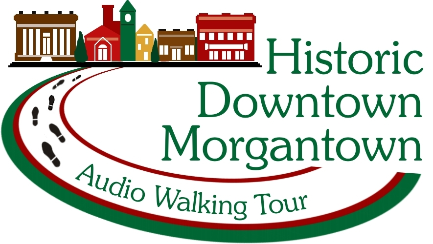 historic downtown morgantown audio walking tour logo