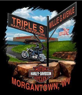 triple s harley davidson logo