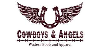 cowboys and angels western boots and apparel logo
