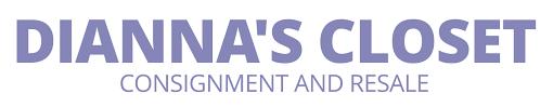 diannas closet consignment and resale logo