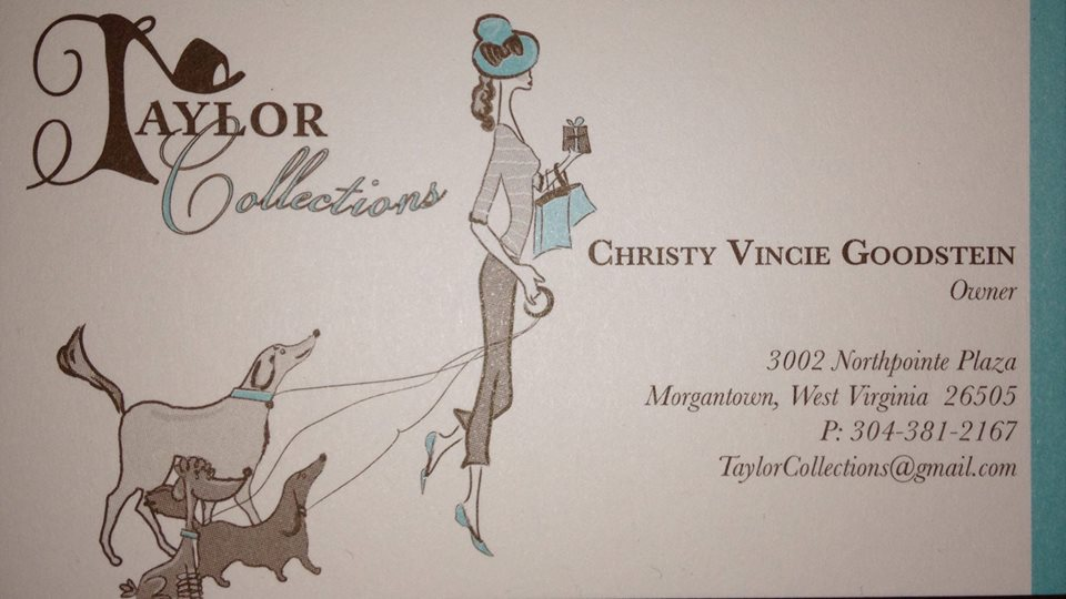 taylor collections business card
