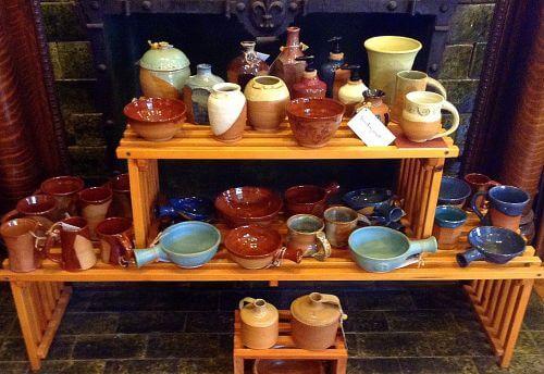 mugs, jars, cups, bottles, soup bowls