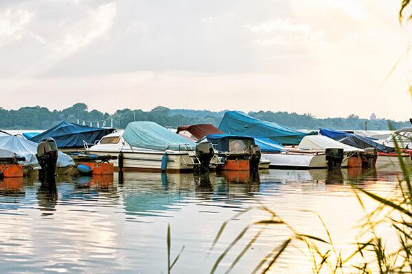 Sunset Beach Marina Boats