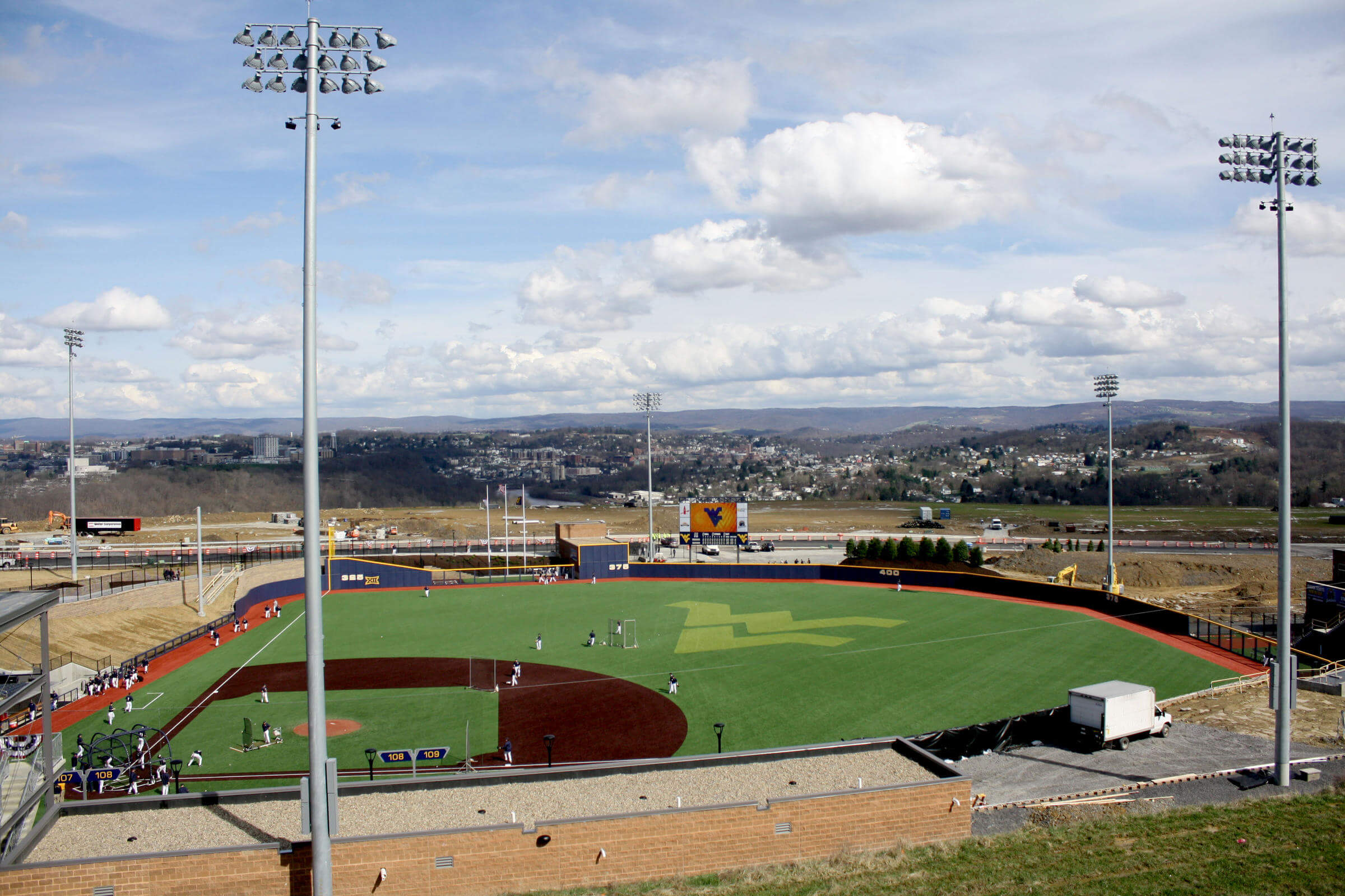 mon county ballpark views