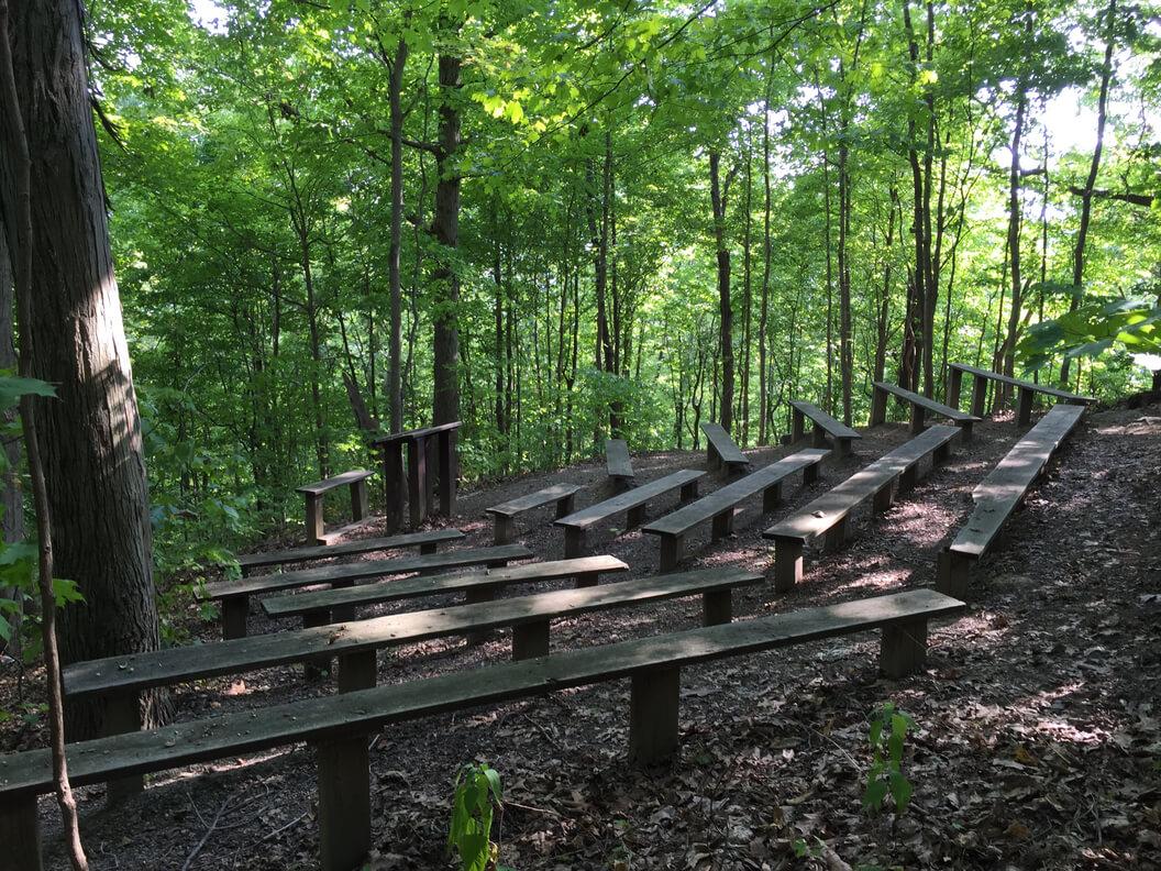 ampitheater arboretum