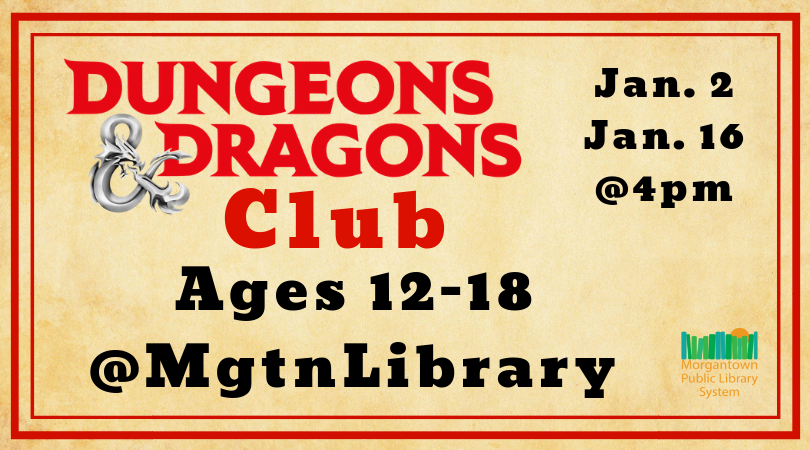 Dungeons and Dragons Club - Morgantown, WV