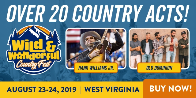 Country Fest Christmas 2019 2019 Wild and Wonderful Country Fest   Morgantown, WV