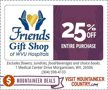 WVU Hospitals – Friends Gift Shop