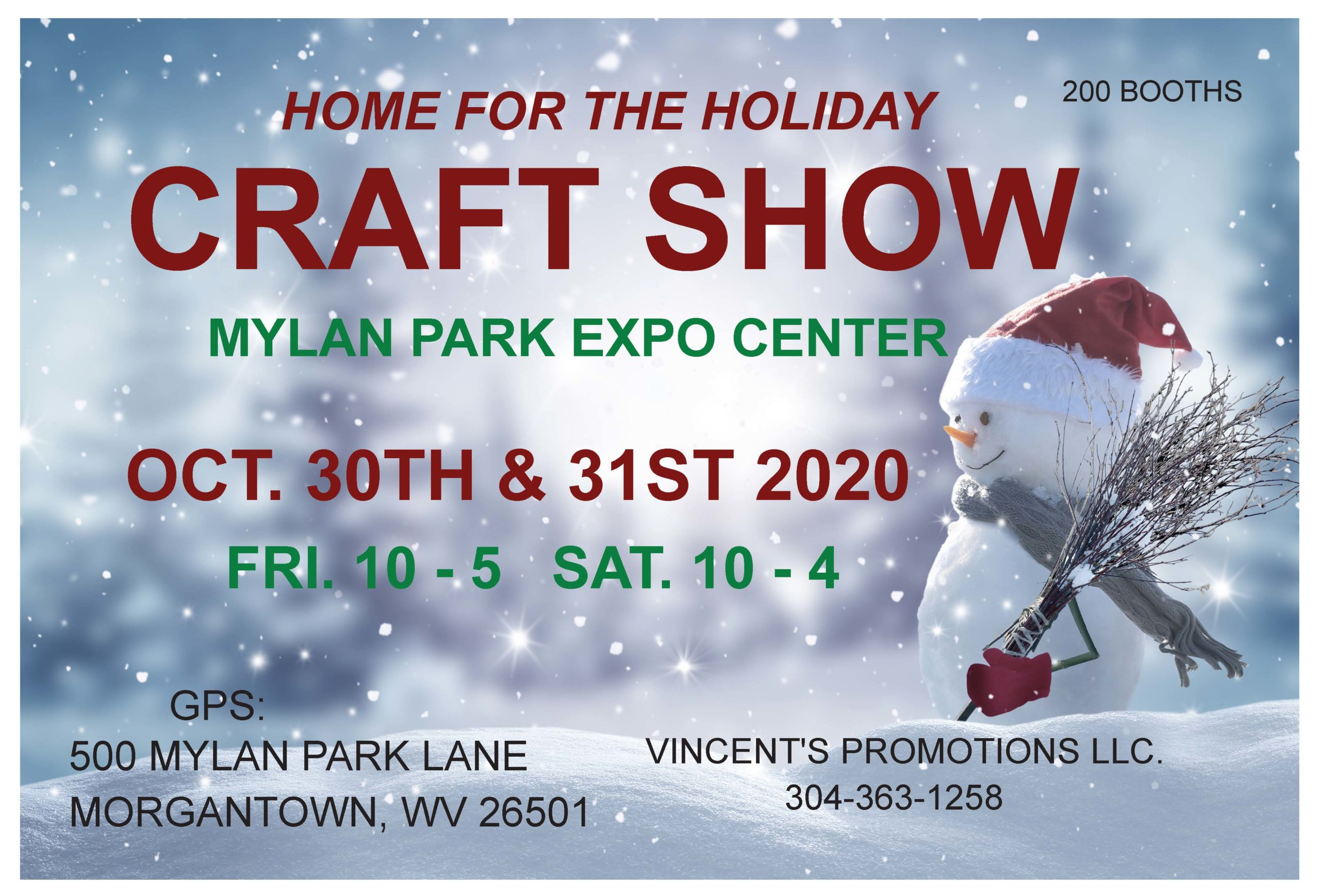 Christmas Craft Shows In Maryland 2020 Mylan Park Holiday Craft Show | VisitMountaineerCountry.com