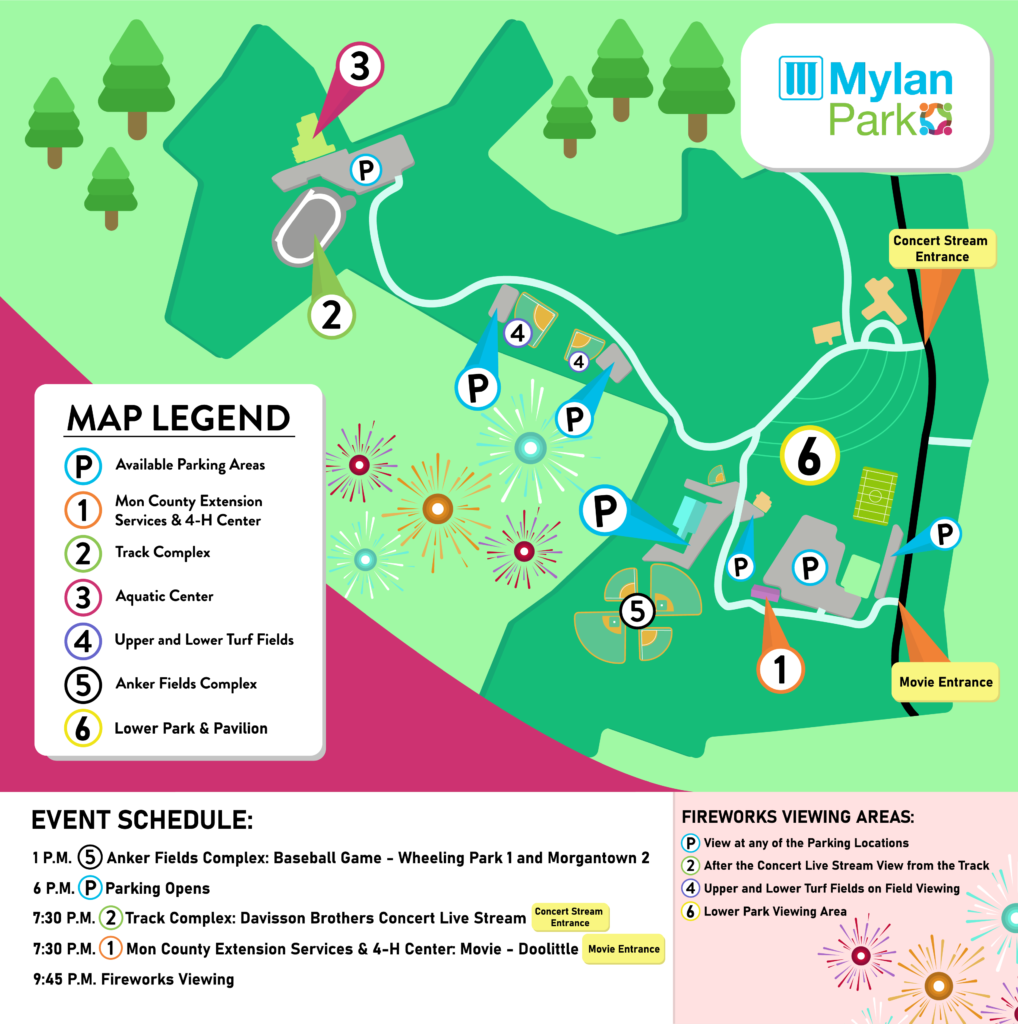 Mylan Park Event