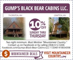 Gump's Black Bear Cabins LLC.