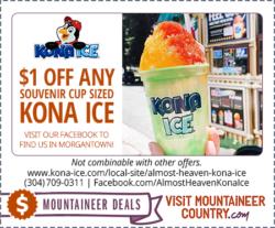 Almost Heaven Kona Ice