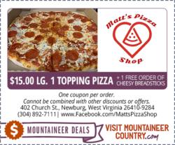 Matt's Pizza Shop